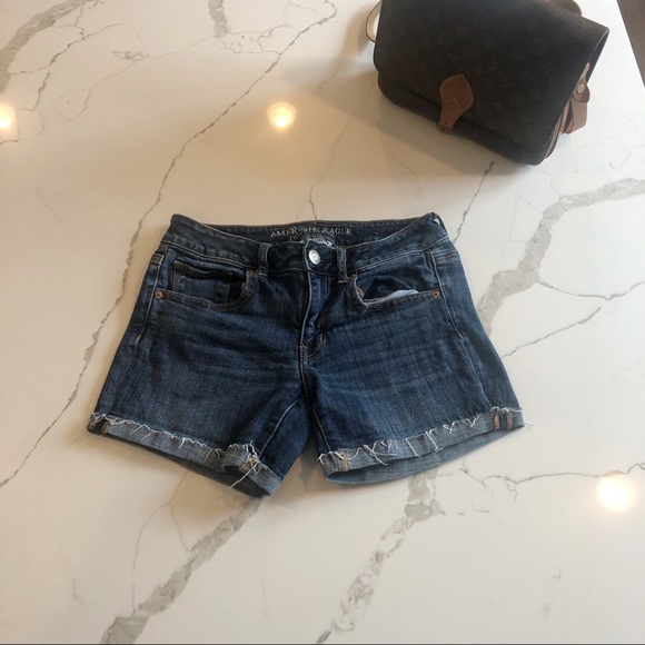 American Eagle Outfitters Pants - American Eagle Outfitters, AE Cut Off Denim Shorts